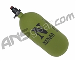 Ninja Dura Carbon Fiber Air Tank w/ Ultralite Regulator - 90/4500 - Olive Drab