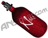 Ninja SL2 Carbon Fiber Air Tank - 45/4500 w/ Ultralite Regulator - Red