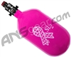 Ninja SL2 Carbon Fiber Air Tank - 68/4500 w/ Pro V2 Regulator - Breast Cancer Awareness