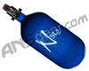 Ninja SL2 Carbon Fiber Air Tank - 77/4500 w/ Adjustable Regulator - Blue