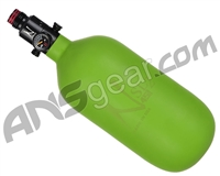 Ninja SL2 Carbon Fiber Air Tank - 45/4500 w/ Ultralite Regulator - Lime (Cerakote Finish)
