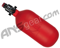 Ninja SL2 Carbon Fiber Air Tank - 45/4500 w/ Adjustable Regulator - Red (Cerakote Finish)