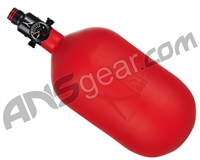 Ninja SL2 Carbon Fiber Air Tank - 68/4500 w/ Adjustable Regulator - Red (Cerakote Finish)