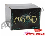APX Agro Pro Paintballs Case 500 Rounds - Bubble Gum Scented - Pink Fill