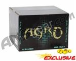 APX Agro Pro Paintballs Case 2000 Rounds - Lemon Scented - Yellow Fill
