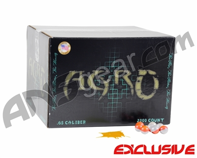 APX Agro Pro Paintballs Case 1000 Rounds - Orange Cream Scented - Orange Fill