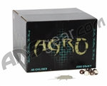 APX Agro Pro Paintballs Case 2000 Rounds - White Fill