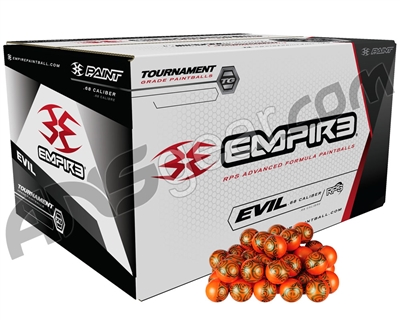 Ultra Evil Paintballs Case 2000 Rounds - Yellow