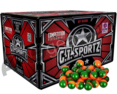 GI Milsim 3 Star Paintballs - 2000 Rounds