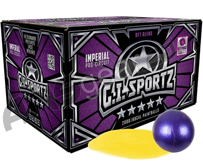 GI Milsim 5 Star Paintballs - 2000 Rounds