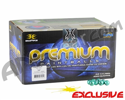 HK Army Premium Paintballs Case 100 Rounds - Yellow Fill