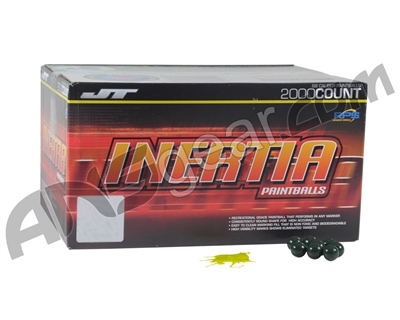 JT Inertia Paintballs Case 2000 Rounds - Yellow Fill