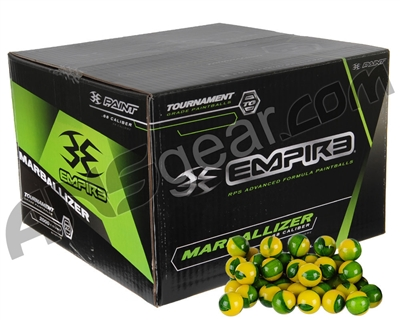 Marballizer Paintballs Case 100 Rounds - Green Fill