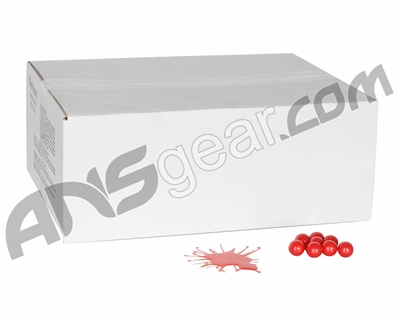 Nelson Nel-Splat Paintballs Case 2000 Rounds - Red Fill