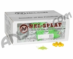 Nelson Nel-Splat Paintballs Case 2000 Rounds - Yellow Fill