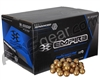 PMI Premium Paintballs Case 500 Rounds - Neon Green fill
