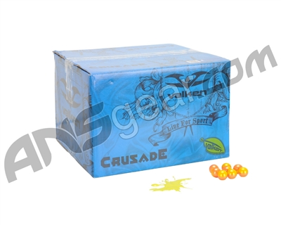 Valken Crusade Paintball Case 500 Rounds - Yellow Fill