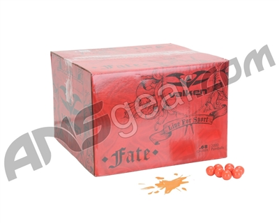 Valken Fate Paintball Case 500 Rounds - Orange Fill