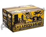 WPN Weapons Grade Paintballs Case 500 Rounds - Green Shell - Orange Fill