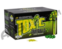 WPN Toxic Paintballs Case 100 Rounds - Green Fill