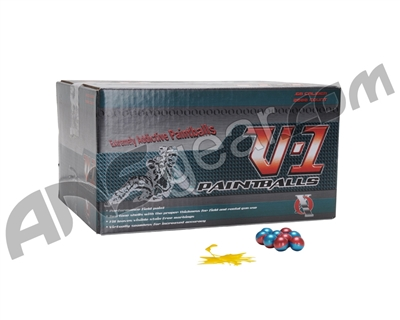 XO V-1 Paintballs Case 2000 Rounds - Yellow Fill