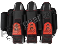 Pinokio 3+6 Paintball Harness - Black/Red