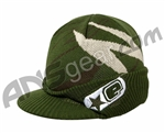 Planet Eclipse 2010 Rogue Visor Beanie - Olive