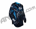 Planet Eclipse 2010 Distortion Paintball Jersey - Aqua Ice