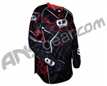 Planet Eclipse 2010 Distortion Paintball Jersey - Fire