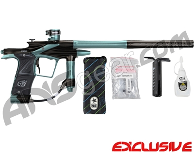 Planet Eclipse 2011 Ego Paintball Gun - Black/Aqua