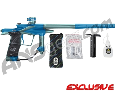 Planet Eclipse 2011 Ego Paintball Gun - Blue/Aqua