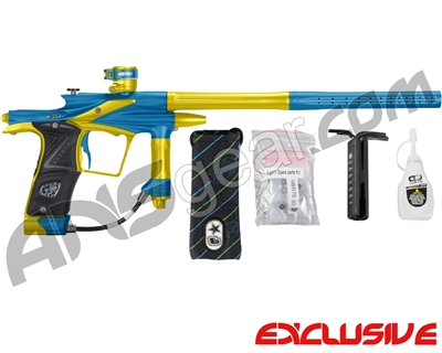 Planet Eclipse 2011 Ego Paintball Gun - Blue/Dust Yellow