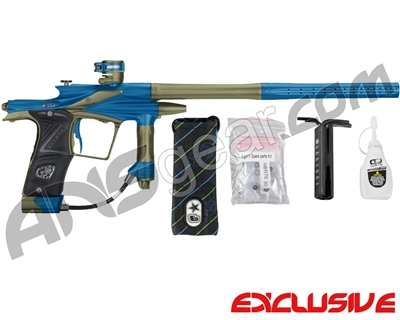 Planet Eclipse 2011 Ego Paintball Gun - Blue/Olive