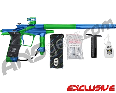 Planet Eclipse 2011 Ego Paintball Gun - Blue/Lime