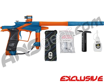 Planet Eclipse 2011 Ego Paintball Gun - Blue/Sunburst Orange