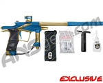 Planet Eclipse 2011 Ego Paintball Gun - Blue/Tan