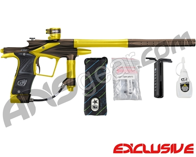 Planet Eclipse 2011 Ego Paintball Gun - Brown/Dust Yellow