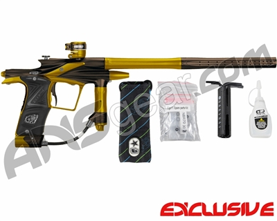 Planet Eclipse 2011 Ego Paintball Gun - Brown/Gold