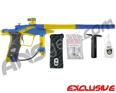 Planet Eclipse 2011 Ego Paintball Gun - Dynasty Blue/Dust Yellow
