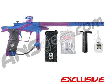 Planet Eclipse 2011 Ego Paintball Gun - Dynasty Blue/Electric Purple
