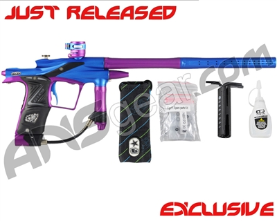 Planet Eclipse 2011 Ego Paintball Gun - Dynasty Blue/Purple/Black