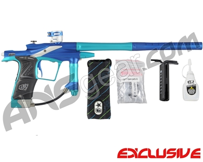 Planet Eclipse 2011 Ego Paintball Gun - Dynasty Blue/Turquoise/White