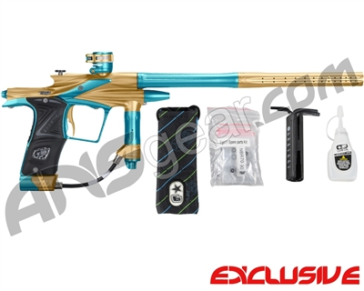 Planet Eclipse 2011 Ego Paintball Gun - Gold/Dust Teal