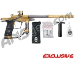 Planet Eclipse 2011 Ego Paintball Gun - Gold/Pewter