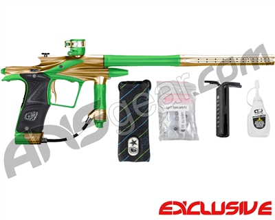 Planet Eclipse 2011 Ego Paintball Gun - Gold/Lime