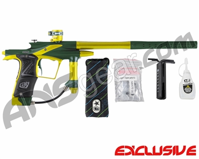 Planet Eclipse 2011 Ego Paintball Gun - Green/Dust Yellow