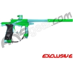 Planet Eclipse 2011 Ego Paintball Gun - Lime/Aqua