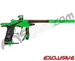 Planet Eclipse 2011 Ego Paintball Gun - Lime/Brown