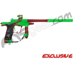 Planet Eclipse 2011 Ego Paintball Gun - Lime/Dark Lava