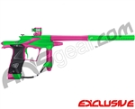 Planet Eclipse 2011 Ego Paintball Gun - Lime/Dust Pink